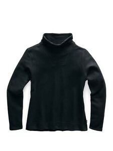 The North Face Womens Hayes Funnel Neck TNF Black Pull Over Top Sz XS ZP-2626