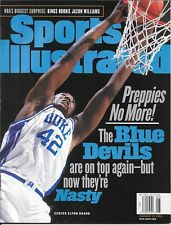 Sports Illustrated 1999 ELTON BRAND Duke Blue Devils NEWSSTAND Mint NIB