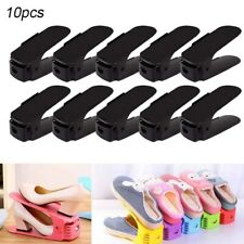 10pcs Durable Adjustable Shoe Organizer Footwear Support  Space Saving Cabinet