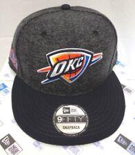new arrival c8e50 15790 OKC Oklahoma City Thunder Men s Era 9fifty Tweed Turn Snapback Cap Hat