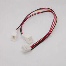 3 Pin Fan Power Splitter Cable Lead 1 Female to 2 x Male Motherboard 25cm