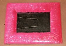 Pink Colorful Fuzzy Picture Frames 3in x 5in