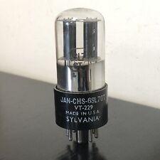 6SL7GT VT229 SYLVANIA NOS VALVE/TUBE