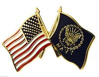 USA / Navy Flags Hat or Lapel Pin H14808D12