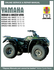 2001 Yamaha Grizzly 600 Haynes Online Repair Manual - 14 Day Access