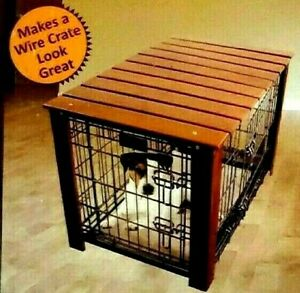 Dog Crate Cover - Doubles as a side table!