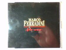 MARCO FERRADINI Filo rosso cd singolo PR0M0 RARISSIMO