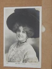 Postcard Actress Marie Studholme Rotary Real photo posted 1905 xc3