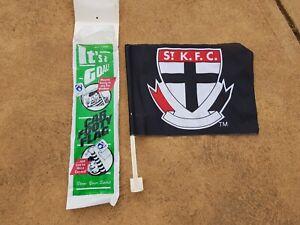 Vintage St Kilda Saints car flag new