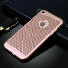 iPhone X 6 6s 7 8 Plus Luxury Ultra Thin Hybrid Shockproof Armor Hard Case Cover for iPhone 7 Gold