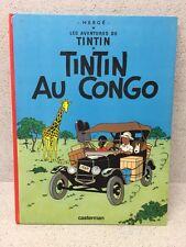HERGE CASTERMAN TINTIN AU CONGO 1974