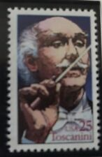 ARTURO TOSCANINI - THE GREATEST CONDUCTOR - COMMEMORATIVE STAMP - 1989 USPS MNH