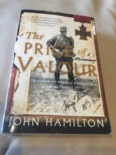 The Price Of Valour ~ Hamilton John  ~ Hugo Throssell biography Gallipoli WW1
