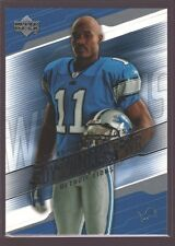 ROY WILLIAMS 2004 UD UPPER DECK ROOKIE CARD MINT RC SP TEXAS LIONS