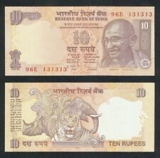 p94A /& p95d 5 /& 10 Rupees India 2 Note Set 2009