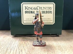 King & Country:  Boxed Roman Cornicen. 54mm Solid Metal Figure