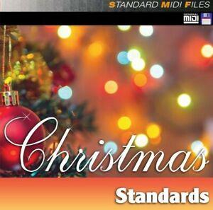Pro MIDI File Disk - Christmas Standards
