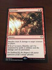 Magic the Gathering MTG 1x BANEFIRE Duel Deck Speed vs. Cunning Many available