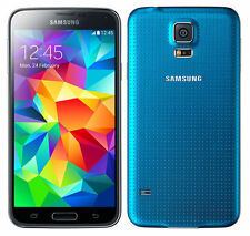 Galaxy S5 LTE 16GB Blue Telstra C *VGC* + Warranty!!