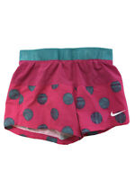 Nike Women's Pink/Blue Dri-Fit Polka Dot Compression Lined Shorts Sz XS