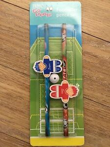 NEW FOOTBALL PENCIL SET