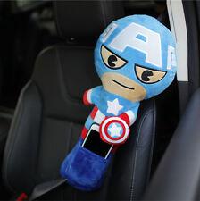New Captain America Lengthen Car Seat Belt Seatbelt Covers