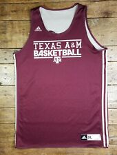 Texas A&M Adidas Basketball Practice Worn Jersey #34 Team Issued Reversible Xl+2