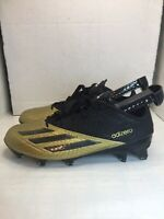 NEW! Adidas Adizero 5-Star 5.0 Football Cleats Black Gold AQ8807 Men's Sz 8.5