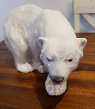 Royal Copenhagen Polar Bear On The Prowl
