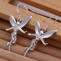 ASAMO Damen Fee Ohrhänger Ohrringe 925 Sterling Silber plattiert O1193