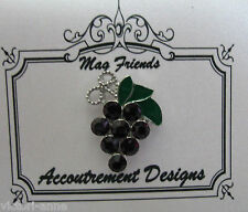 Accoutrement Designs Grapes Needle Minder Magnet Mag Friends
