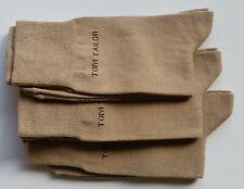 Tom Tailor Herren Socken 3 Paar Gr. 39-42 beige uni