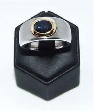 Handgefertigte natürliche Ringe mit Saphir echten Edelsteinen