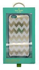"Kate Spade New York Hybrid Hardshell Case iPhone 6Plus & 6sPlus 5.5""Gold Chevron"