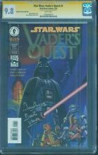 Star Wars Vaders Quest 1 CGC SS 9.8 David Prowse Remark Dynamic Forces Gold Foil