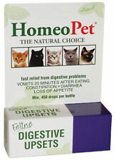 HomeoPet 15ml Feline Digestive Upsets Cats Vomiting after eating Diarrhea relief