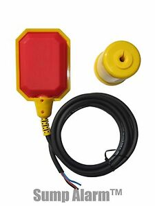 Float Switch w Short (6 ft) Cord, Water Tank, Sump Pump, Septic Applicatins