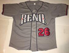 MiLB Reno Aces SGA Jersey Men's XL Arizona Diamond Backs Game Stitched 26