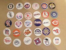POGS/MILKCAPS BASEBALL AMERICAN & NATIONAL LEAGUE  COMPLETE SET OF ALL (30)