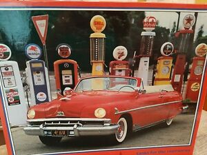 NEW Tanks for the Memories puzzle 51 Lincoln Cosmopolitan vintage gas pumps 1000
