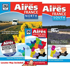 All the Aires France North & South 2nd Motorhome campervan Vicarious Books Media
