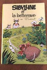 SIBYLLINE ET LA BETTERAVE par MACHEROT - TOME 1 en EO 1967 - BE & RARE