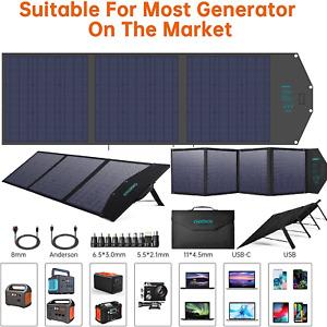 ☀️ Solar Charger Sun Power Mobile Solar Panel USB Ports iPhone Tablet iPad