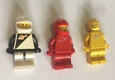 lot de 3 personnages figurines ouvrier espace astronaute LEGO  (b9)