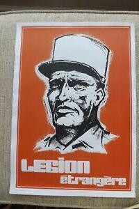 French Foreign Legion Recruitment poster #2 Marseilles Paris Fort Base Nicolas