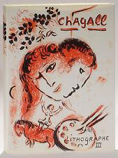 Chagall Lithograph 1962-1968 German/Deutsche edition 2 original prints