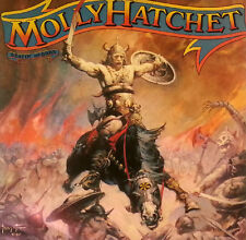 """Molly Hatchet Beating The Odds - 12"""" LP - k489 - Original Inner Sleeve - washed"""