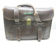 USAF VINTAGE PILOTS ALL LEATHER BRIEFCASE TYPE VIII