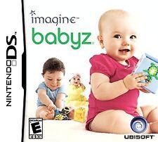 Imagine: Babyz (Nintendo DS, 2007) COMPLETE GAME BOX MANUAL NES HQ