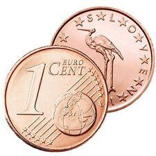 Pièces euro de la Slovénie pour 1 cent